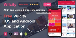 Wilcity v1.3.10 – Directory Listing WordPress Theme + App
