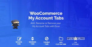 WooCommerce Custom My Account Pages v1.0.12