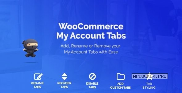 WooCommerce Custom My Account Pages v1.0.12