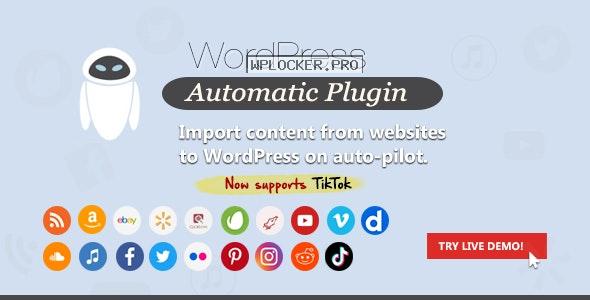 WordPress Automatic Plugin v3.51.2