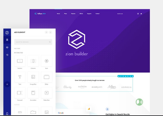 Zion Builder Pro v1.2.1 – The Fastest WordPress Page Builder