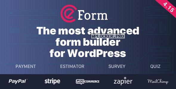 eForm v4.15.0 – WordPress Form Builder