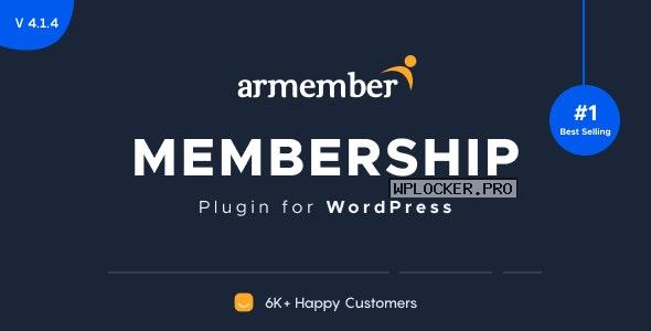 ARMember v4.1.4 + Addons