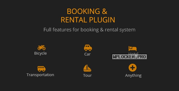 BRW v1.1.9 – Booking Rental Plugin WooCommerce