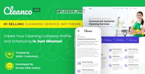 Cleanco v3.2.2 – Cleaning Company WordPress Theme