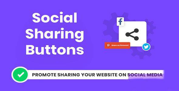 Divi Social Sharing Buttons v1.0.0