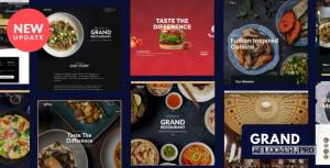 Grand Restaurant v6.1.1 – Restaurant Cafe Theme
