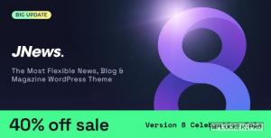 JNews v8.0.0 – WordPress Newspaper Magazine Blog AMP
