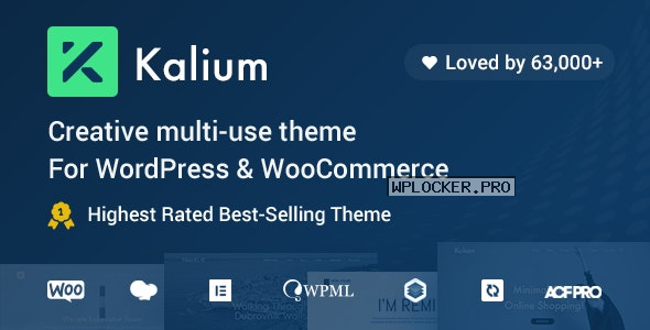 Kalium v3.3 – Creative Theme for Professionals