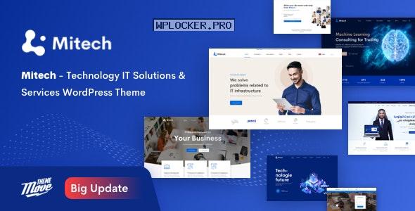 Mitech v1.5.3 – Technology IT Solutions & Services WordPress Theme