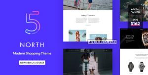 North v5.7.0 – Responsive WooCommerce WordPress Theme