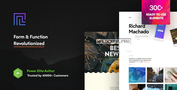 Revolution v2.4.3 – Creative Multi Purpose Theme
