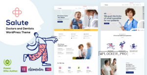 Salute Medical v3.3 – WordPress