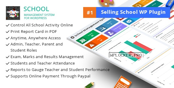 School Management System for WordPress v71.0 nulled