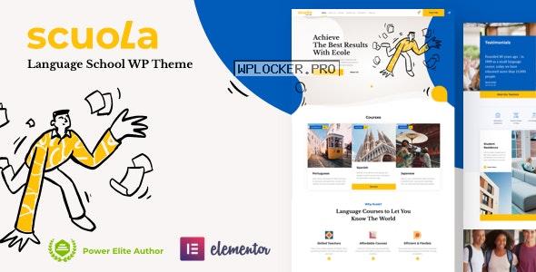 Scuola v4.0 – Language School WordPress Elementor nulled
