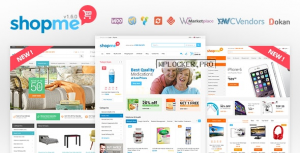 ShopMe v1.6.0 – Woocommerce WordPress Theme