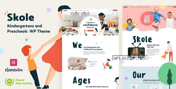 Skole v4.0 – School Kindergarten WordPress Elementor