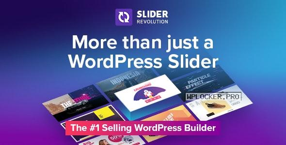 Slider Revolution v6.4.3 + Addons