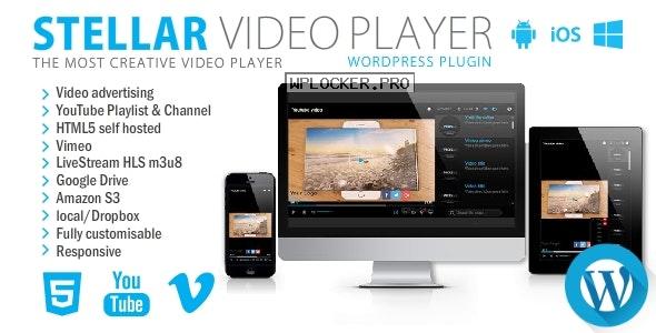 Stellar Video Player v2.5 – WordPress plugin