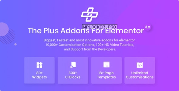 The Plus v4.1.8 – Addon for Elementor Page Builder WordPress Plugin