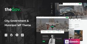 TheGov v1.1.5 – Municipal and Government WordPress Theme