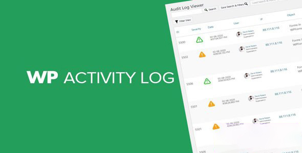 WP Activity Log (Premium) v4.3.1.1 NULLED