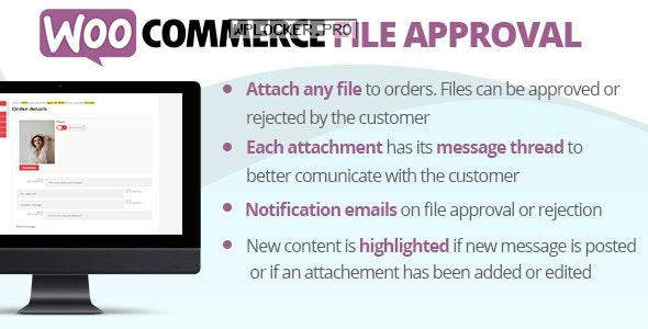 WooCommerce File Approval v5.1