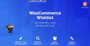 WooCommerce Wishlist v1.1.6