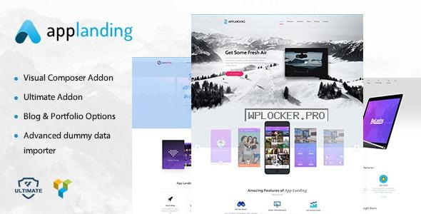 App Landing v1.8 – Landing Theme & Product Promotion WordPress Theme