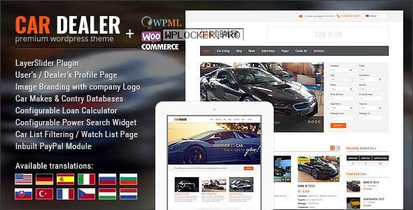Car Dealer v1.8.0 – Automotive Responsive WordPress Theme