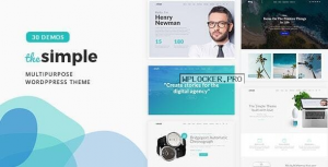 The Simple v2.6.1 – Business WordPress Theme