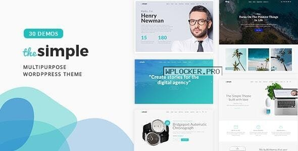 The Simple v2.6.1 – Business WordPress Theme