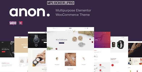 Anon v2.0.2 – Multipurpose Elementor WooCommerce Theme