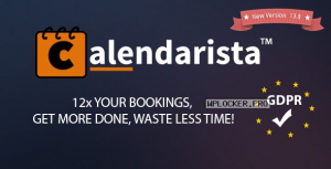 Calendarista Premium v13.8 – WP Appointment Booking Plugin and Schedule System