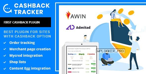 Cashback Tracker v1.6.6 – WordPress Plugin