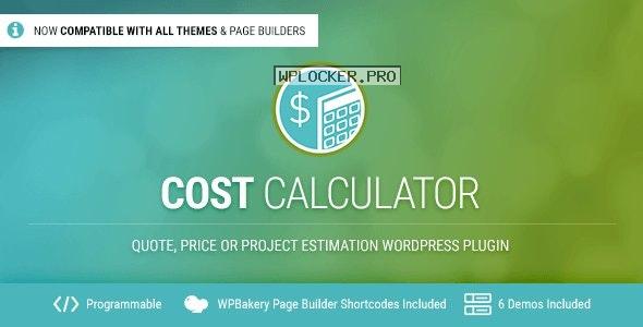 Cost Calculator v2.3.4 – WordPress Plugin