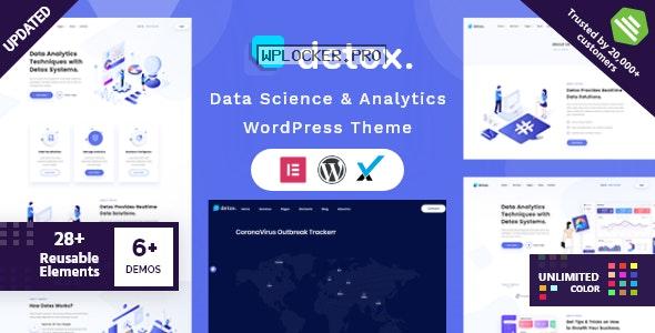 Detox v1.7 – Data Science & Analytics WordPress Theme