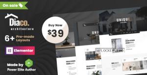 Diaco v1.5 – Architecture & Interior Design Elementor WordPress Theme