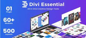Divi Essential v4.4.8 – Divi Extension