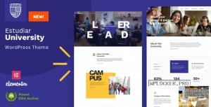 Estudiar v1.1 – College University WordPress