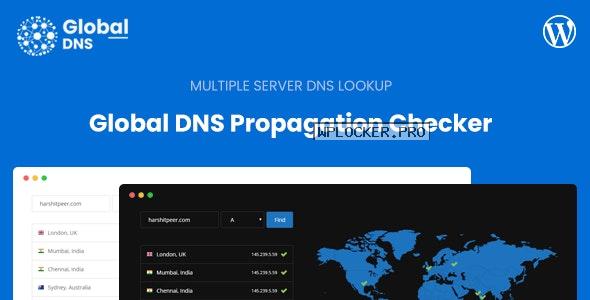 Global DNS v1.4.0 – Multiple Server – DNS Propagation Checker – WP