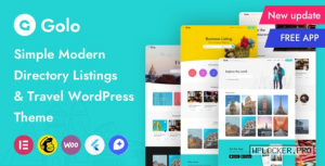 Golo v1.4.5 – City Guide WordPress Theme