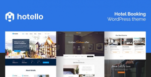 Hotello v1.3.6 – Hotel Booking WordPress theme