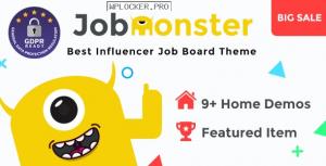 Jobmonster v4.6.7.5 – Job Board WordPress Theme