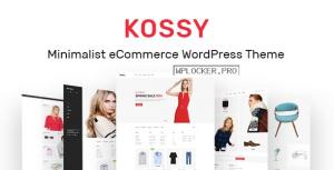 Kossy v1.25 – Minimalist eCommerce WordPress Theme
