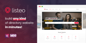 Listeo v1.6.23 – Directory & Listings With Booking