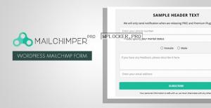 MailChimper PRO v1.8.3.1 – WordPress MailChimp Signup Form Plugin