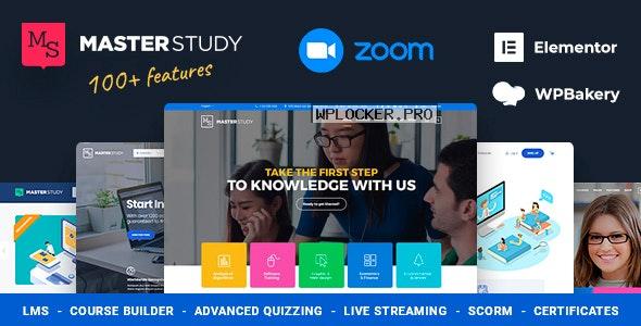 Masterstudy v4.2.8 – Education Center WordPress Theme nulled