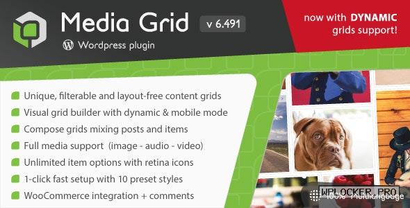 Media Grid v6.51 – WordPress Responsive Portfolio