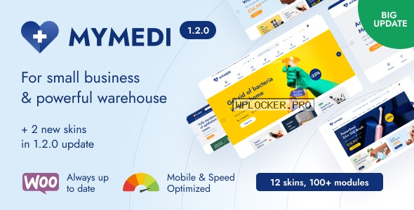 MyMedi v1.2.0 – Responsive WooCommerce WordPress Theme